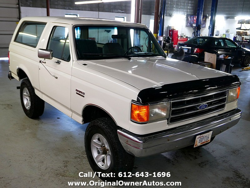 Ford Bronco 1990 price $8,995