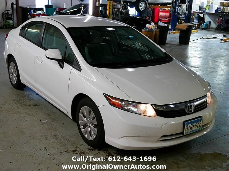 Honda Civic Sdn 2012 price $4,995