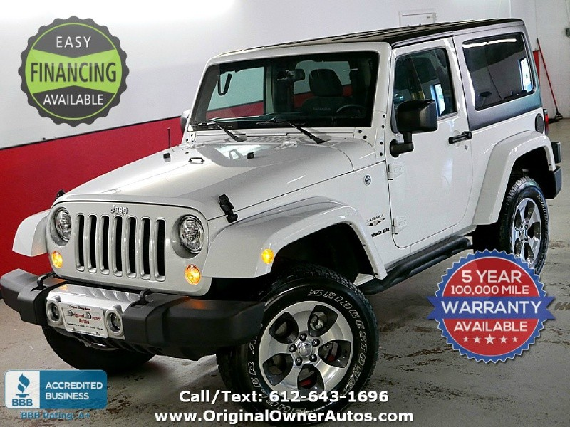 Jeep Wrangler 2017 price $27,495