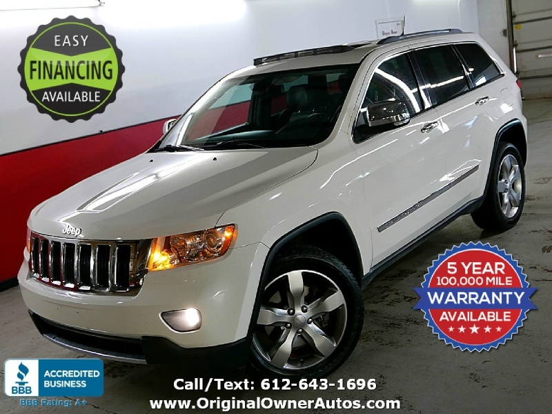 2012 Jeep Grand Cherokee 4wd Limited Navi Dvd Original Owner Autos