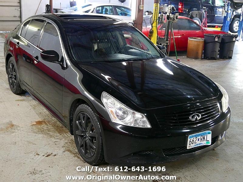 Infiniti G37 Sedan 2009 price $5,495