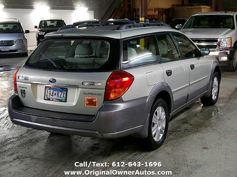 Subaru Legacy Wagon (Natl) 2005 price $5,995