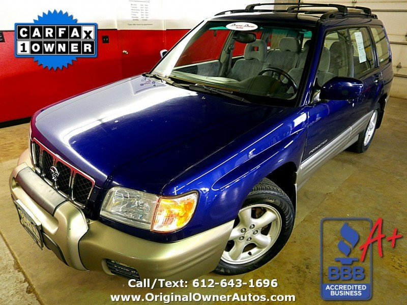 2001 subaru forester s premium awd 1 owner only 138k great shape original owner autos dealership in eden prairie original owner autos inc