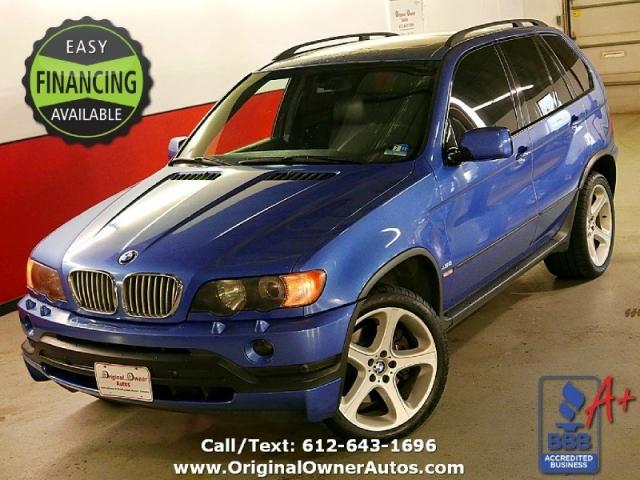 2002 BMW X5 4.6is RARE Estorial Blue, 350HP, MINT, 89k miles ...