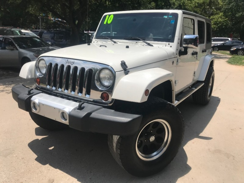 Jeep Wrangler Unlimited 2010 price $5,000 Down