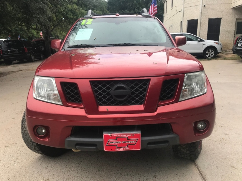 Nissan Frontier 2012 price $4,000 Down
