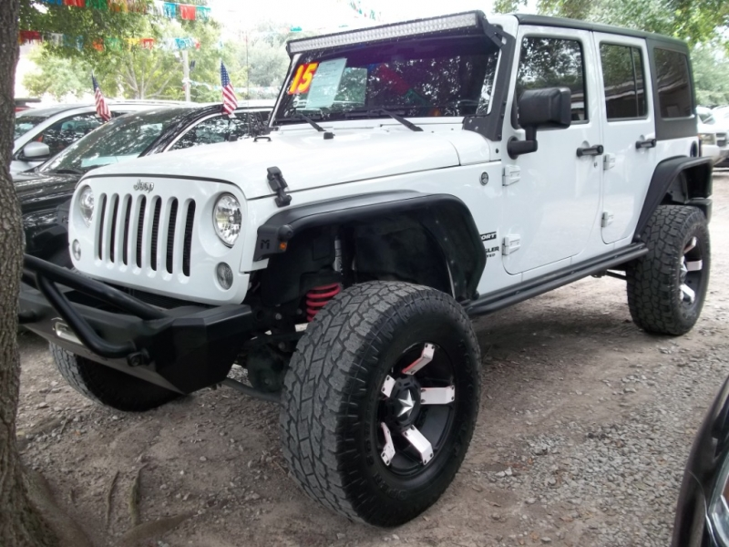 Jeep Wrangler Unlimited 2015 price $6,000 Down