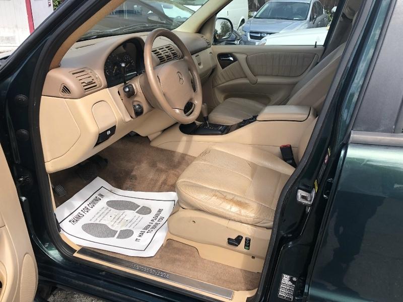 Mercedes-Benz M-Class 2000 price $4,491