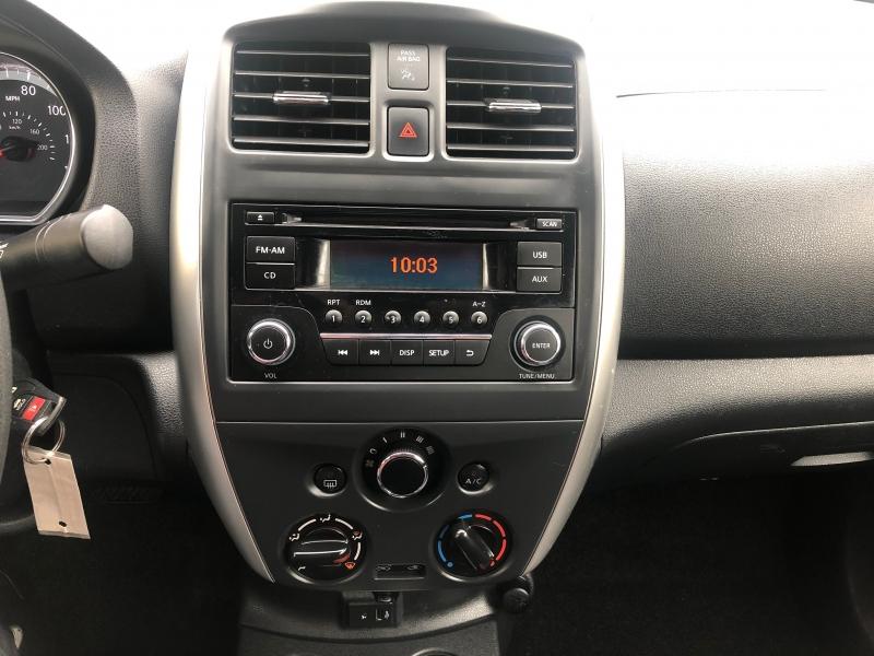 Nissan Versa Sedan 2017 price