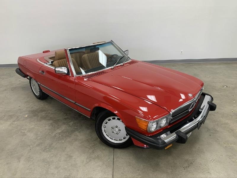 Mercedes-Benz SL-Class 1988 price Sold