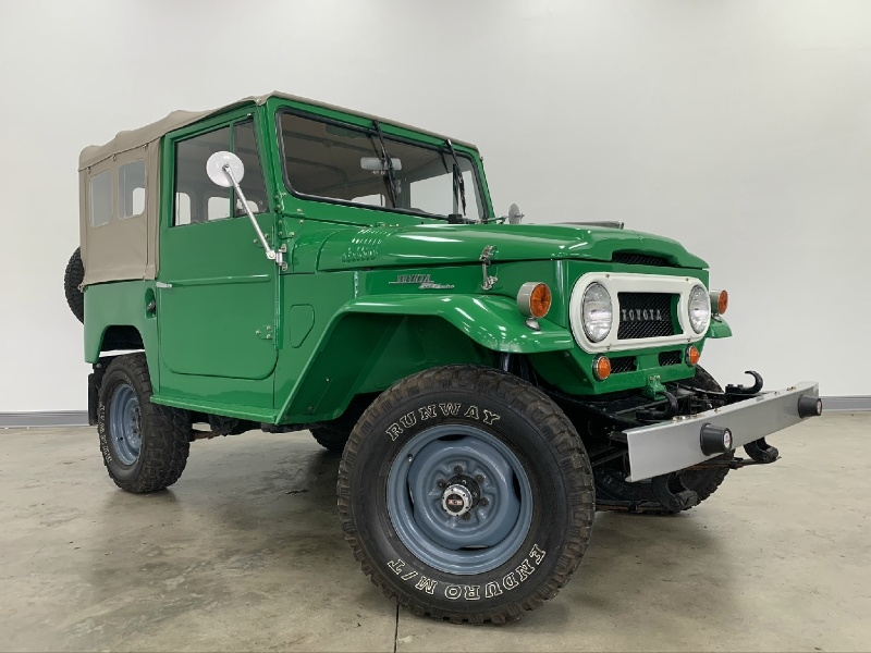 Toyota Land Cruiser 1968 price $32,977