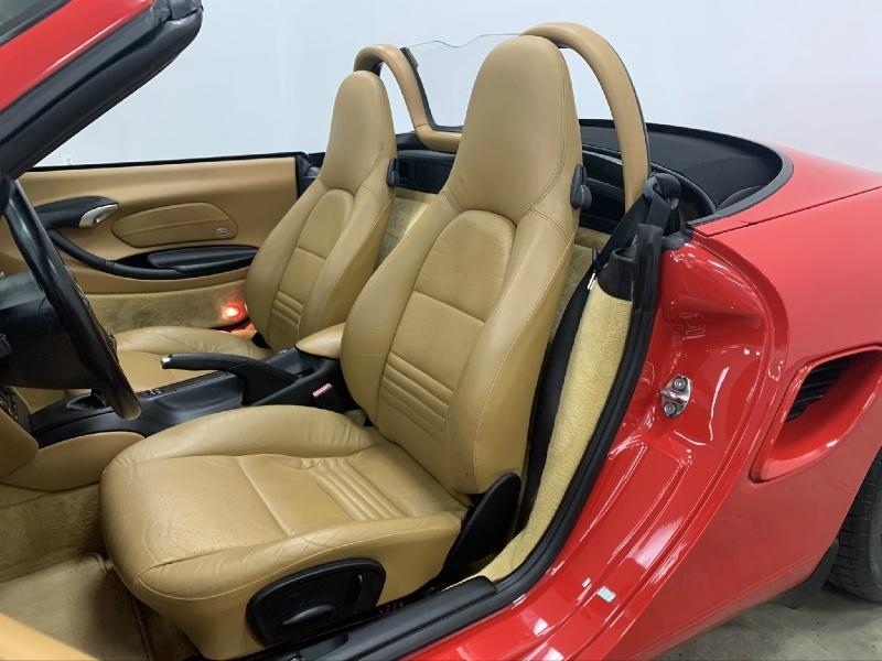Porsche Boxster 2002 price Sold