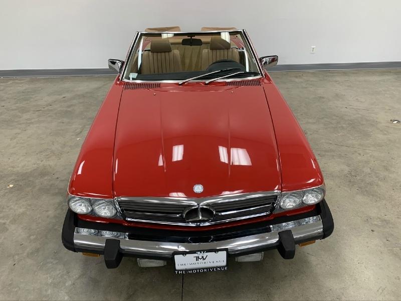 Mercedes-Benz SL-Class 1985 price Sold