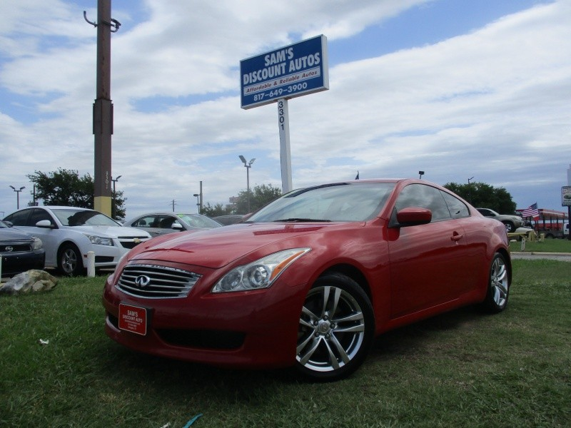 Infiniti G37 Coupe 2009 price $7,444