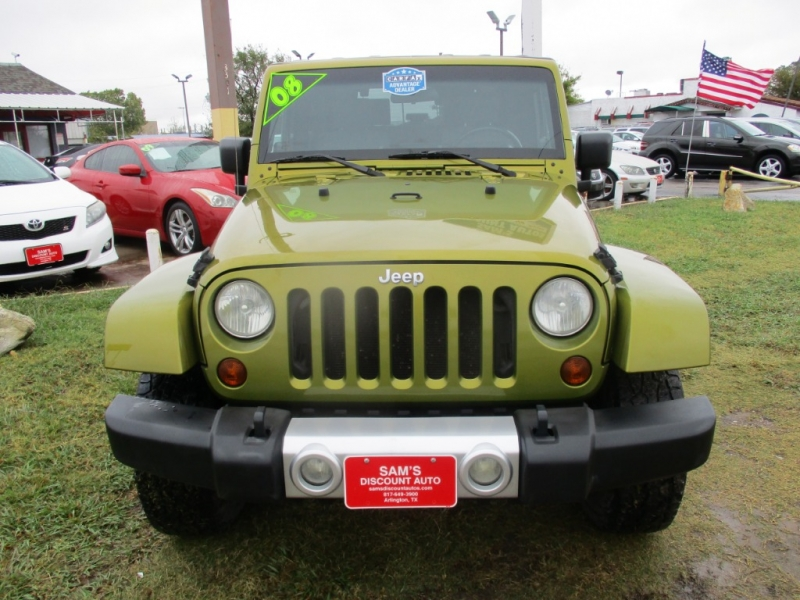 Jeep Wrangler 2008 price $10,850