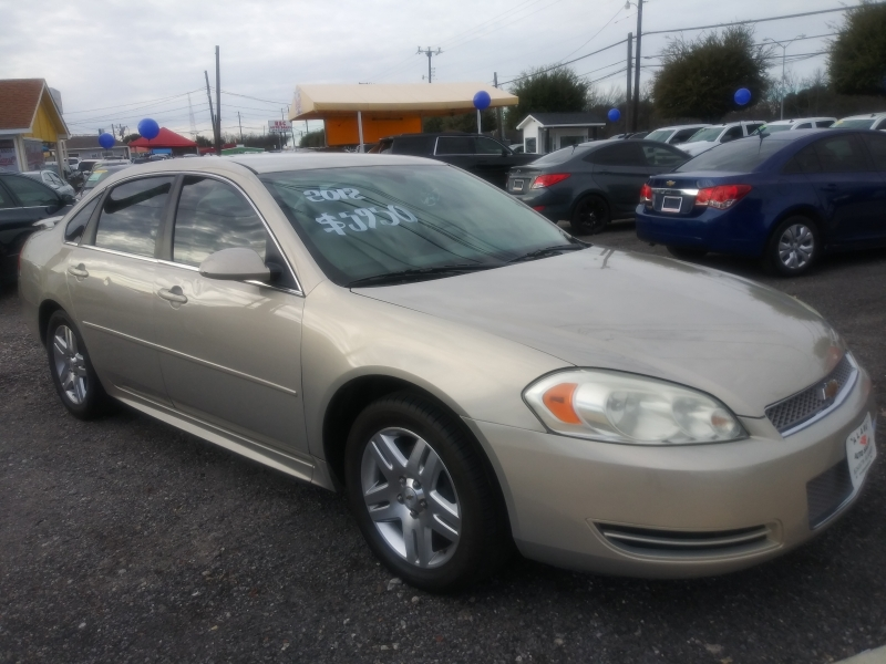 Chevrolet Impala 2012 price $5,950