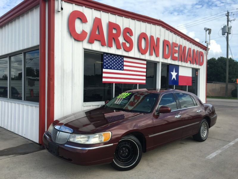 2000 Lincoln Town Car 4dr Sdn Cartier Inventory Auto 4 Less
