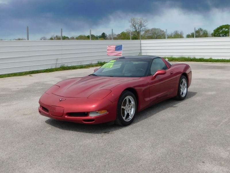 Chevrolet Corvette 2002 price $11,995