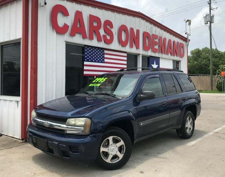 Chevrolet TrailBlazer 2004 price $2,495