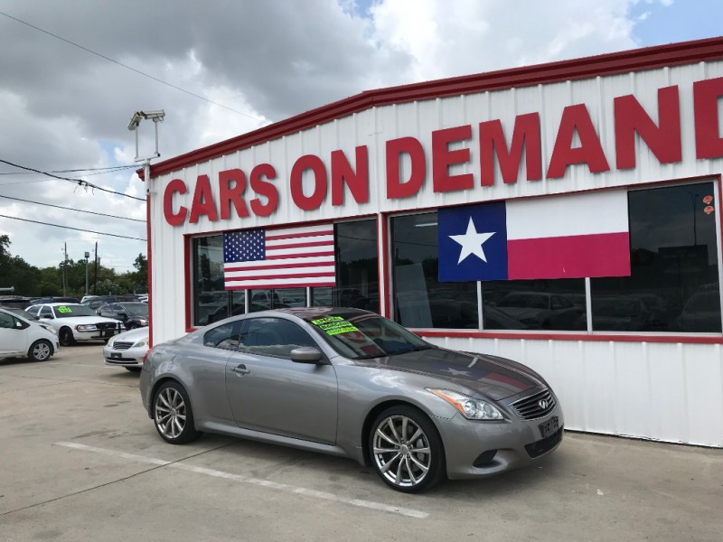 Infiniti G37 Coupe 2009 price $7,995