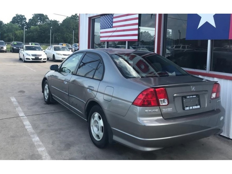Honda Civic Hybrid 2005 price $3,995