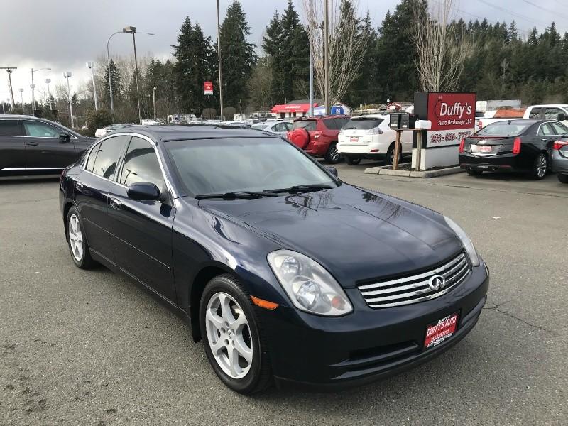 Infiniti G35 Sedan 2004 price $6,599