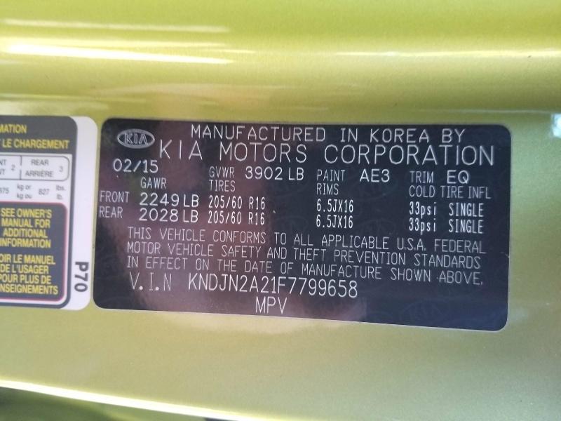 Kia Soul 2015 price $9,983