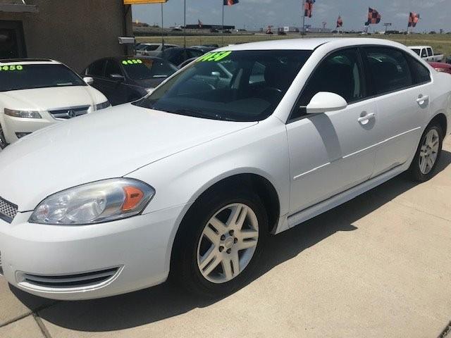 Chevrolet Impala 2012 price $4,450