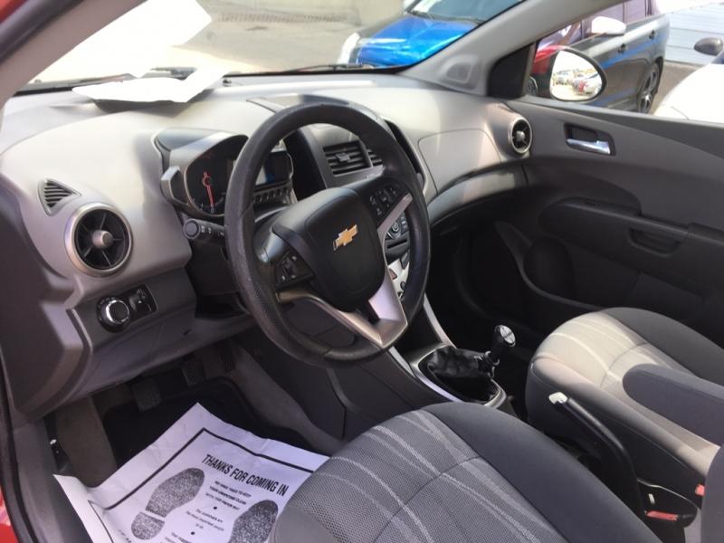 Chevrolet Sonic 2012 price $4,950