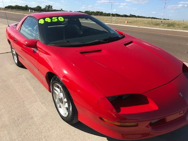 Chevrolet Camaro 1996 price $4,450