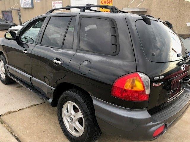 Hyundai Santa Fe 2003 price $2,550