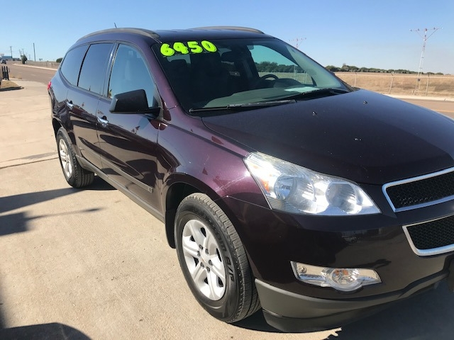 Chevrolet Traverse 2010 price $6,550