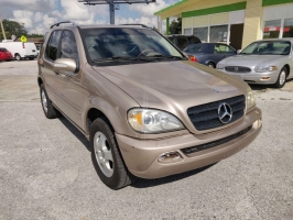MERCEDES-BENZ ML 2002