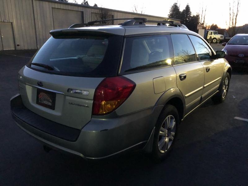 Subaru Outback 2005 price $6,495