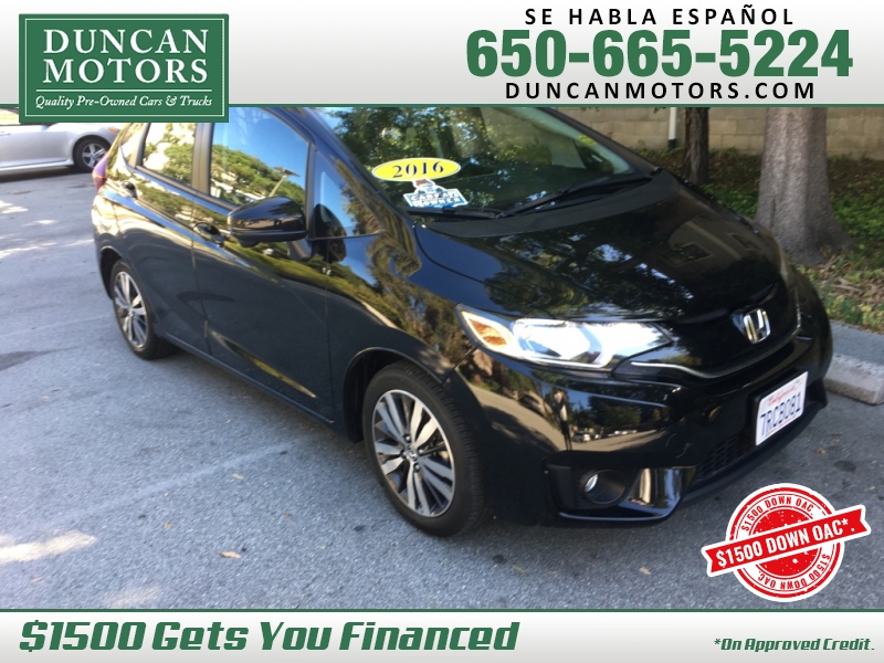 Honda Fit 2016 price $14,595