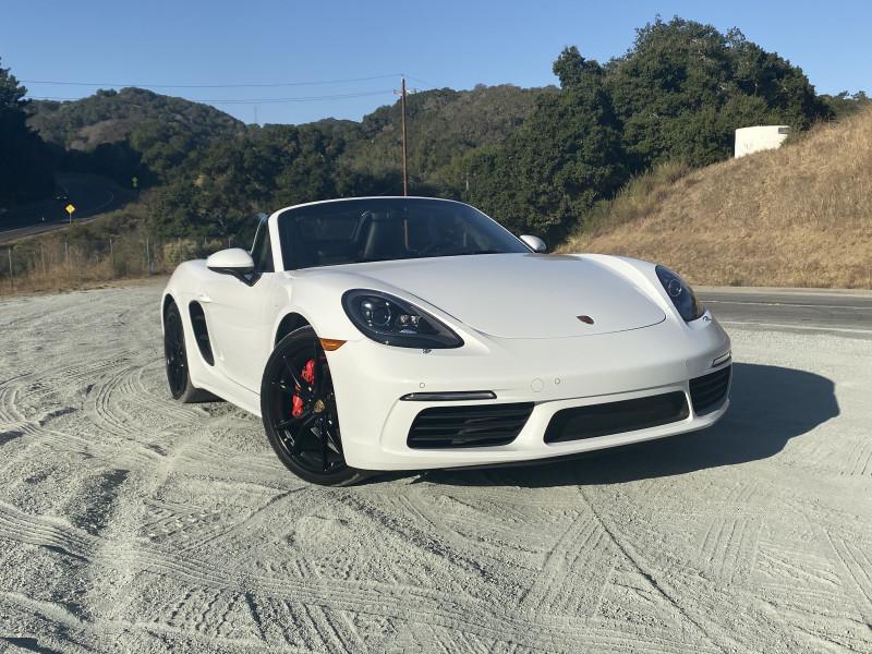 Porsche 718 Boxster 2017 price $60,000
