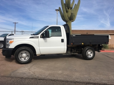 Ford Super Duty F-250 Flat Bed 2012