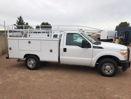 Ford Super Duty F-250 Service Utility Bed 2012