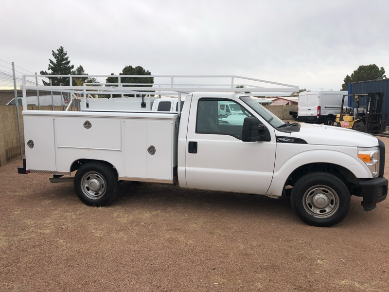 2012 Ford Super Duty F-250 Service Utility Bed