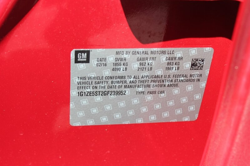 Chevrolet Malibu 2016 price $9,991