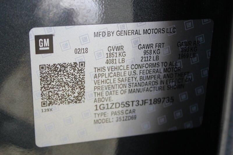 Chevrolet Malibu 2018 price $16,491