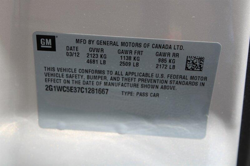 Chevrolet Impala 2012 price $7,491