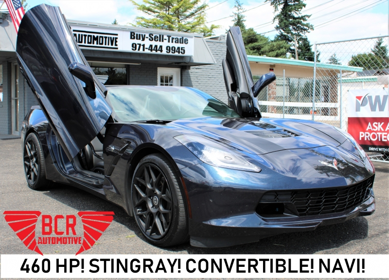 Chevrolet Corvette Stingray 2014 price $0