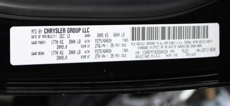 RAM 1500 2013 price $19,491
