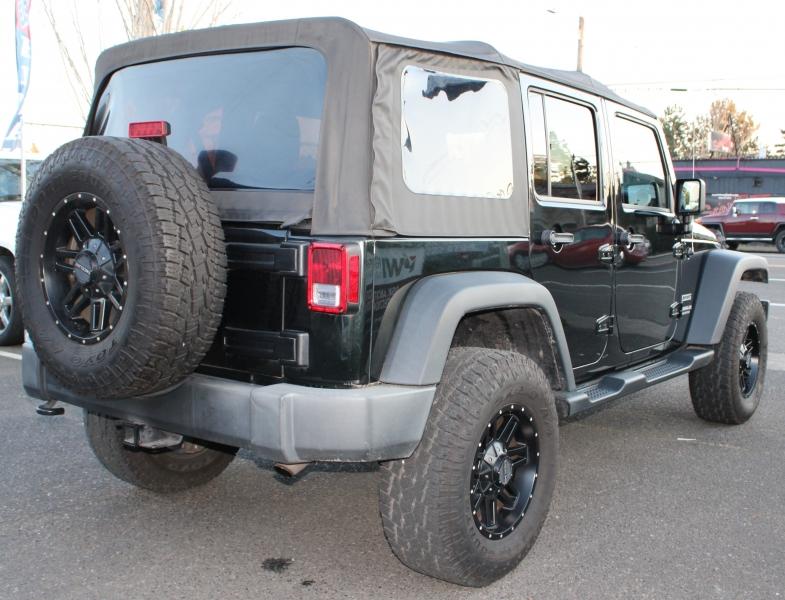 Jeep Wrangler Unlimited 2012 price $21,491