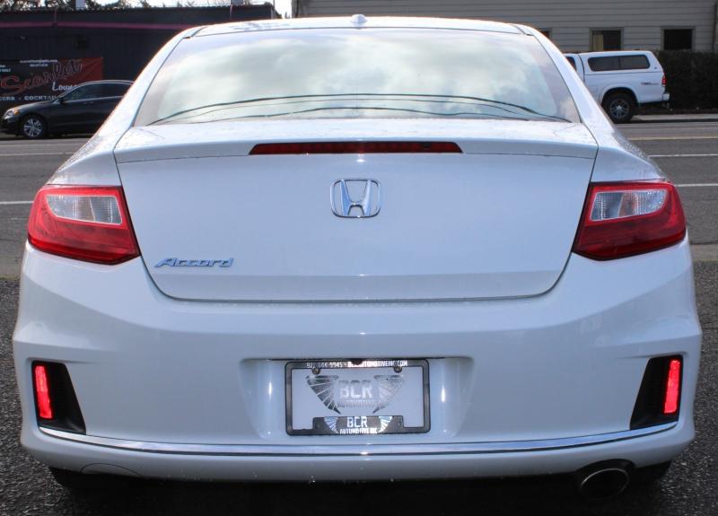 Honda Accord Coupe Leather Interior 2015 price $16,991