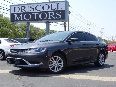 2015 Chrysler 200 Limited 2.4L 4cyl 4dr Auto