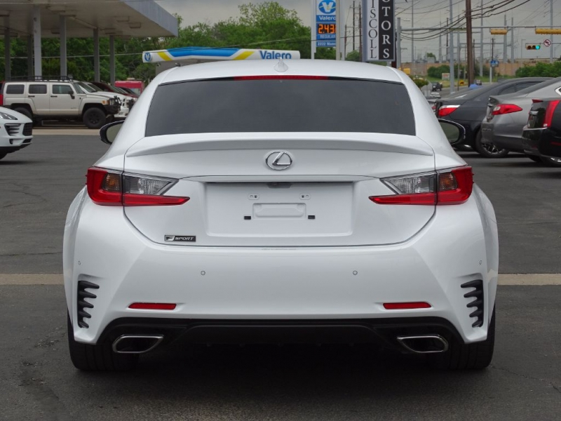 Lexus RC 350 F Sport Coupe 2018 price $39,900