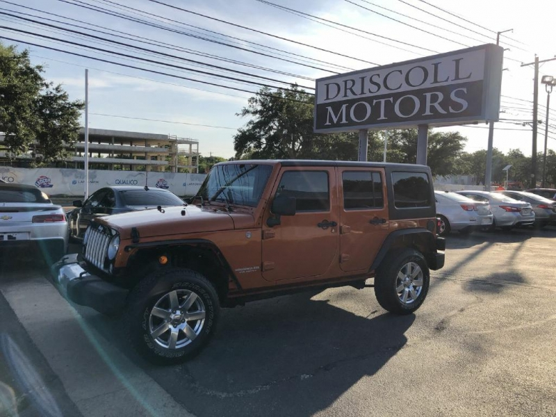 Jeep Wrangler Unlimited 2011 price $20,900