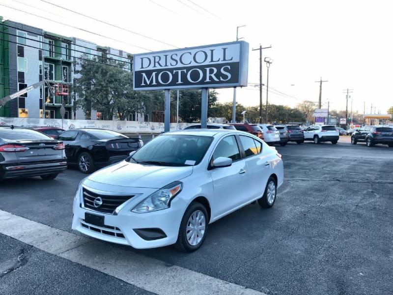 Nissan Versa Sedan 2017 price $7,600